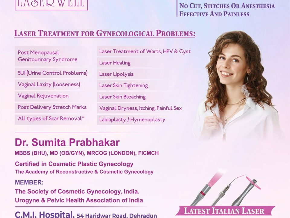 Laser Treatment for Gynecological Problems in Dehradun